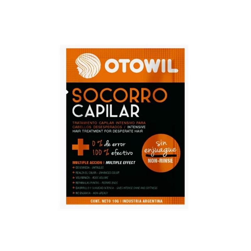 OTOWIL SOCORRO CAPILAR SIN ENJUAGUE SOBRE 10CC