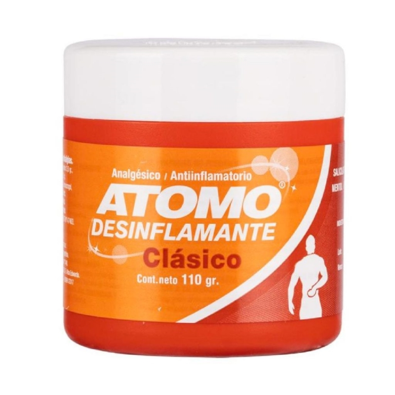 ATOMO DESINFLAMANTE CLASICO POTE X 110 G