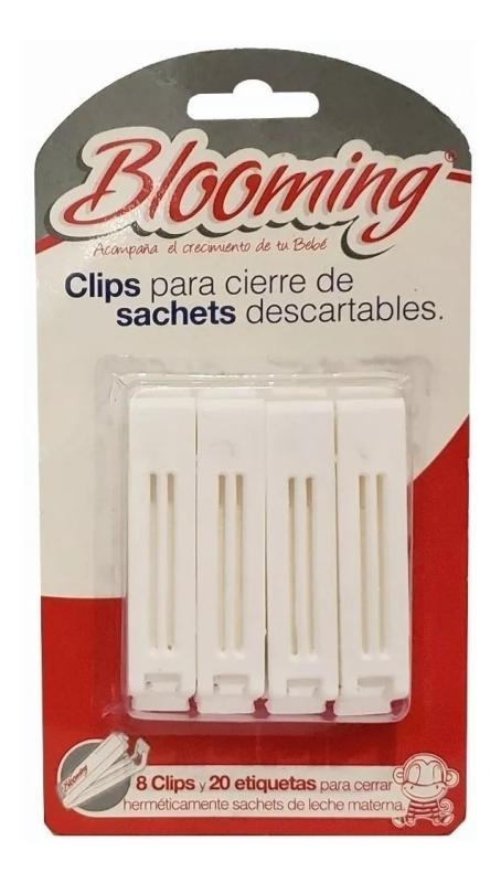 BLOOMING BLOOMING CLIPS PARA CIERRE X8