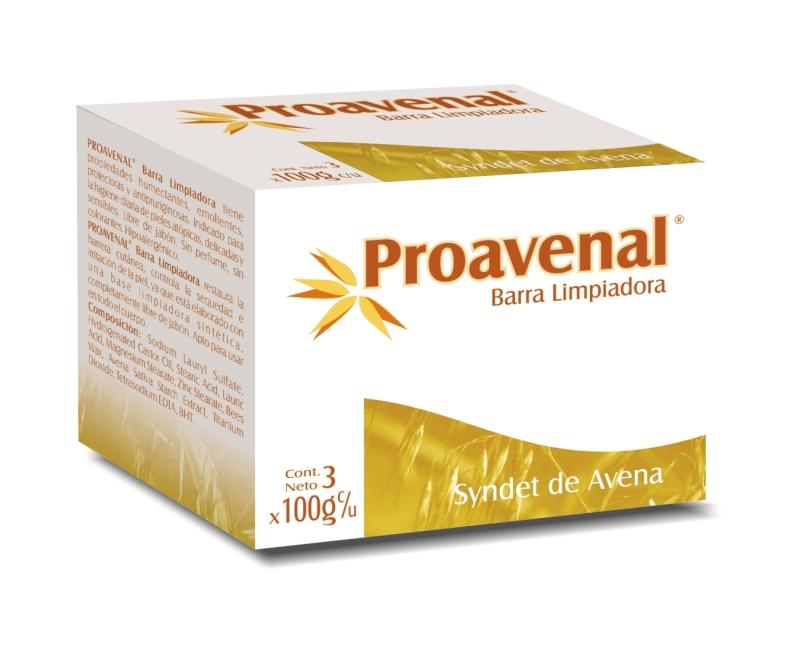 PROAVENAL OMEGATOPIC BARRA LIMPIADORA 100 GR  X 3 UNIDADES