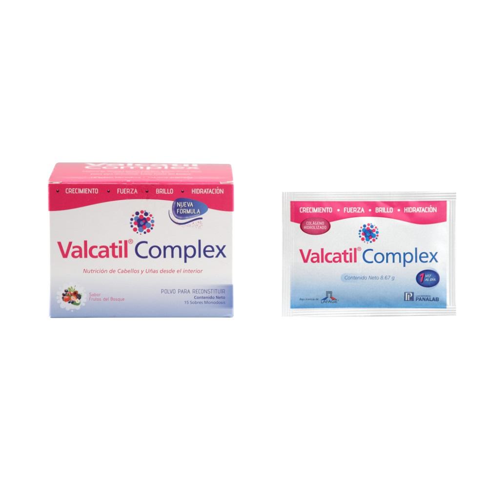 VALCATIL COMPLEX  SOBRES  X   15