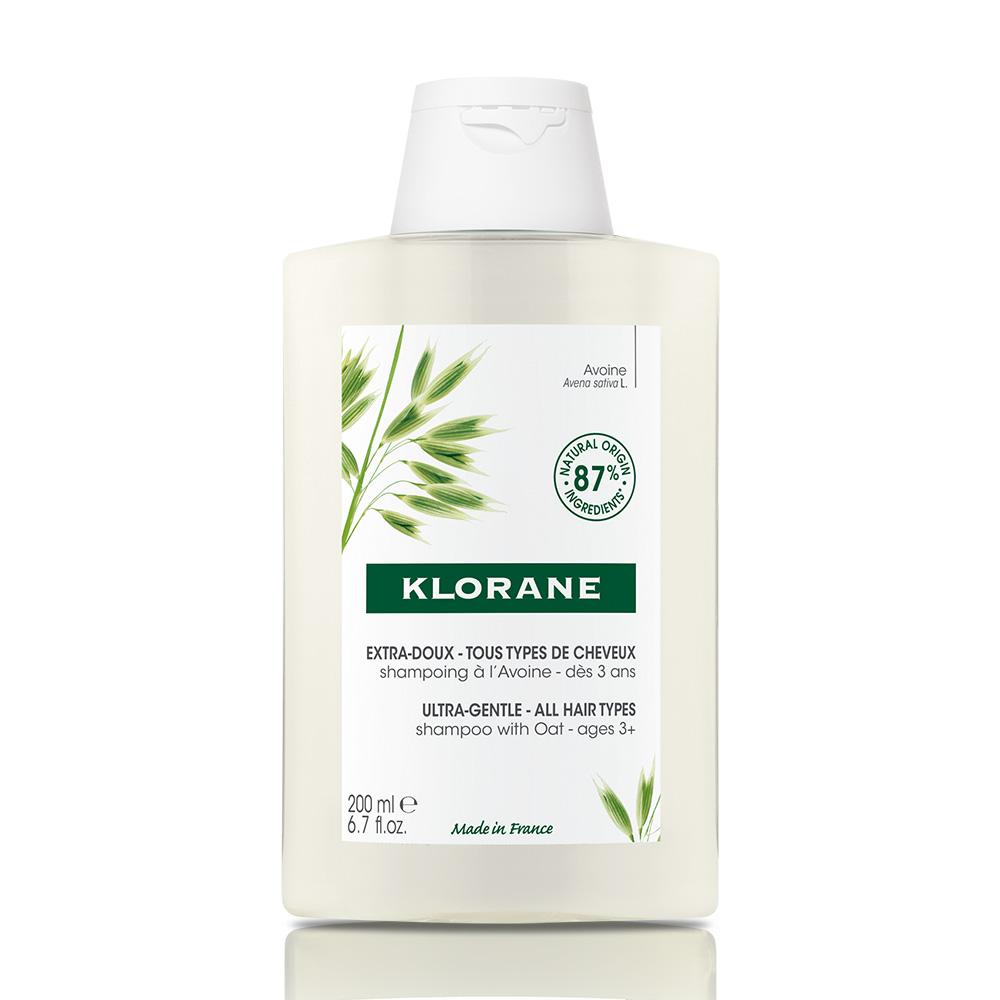 KLORANE SHAMPOO LAIT D'AVOINE X 200 ml