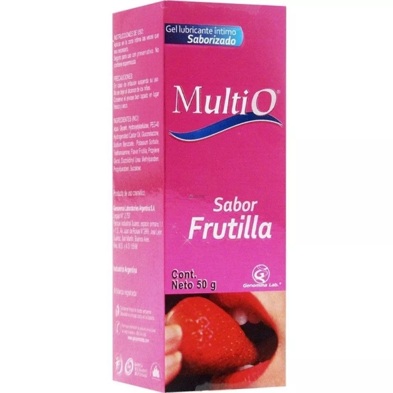 MULTIO FRUTILLA X 50 gr