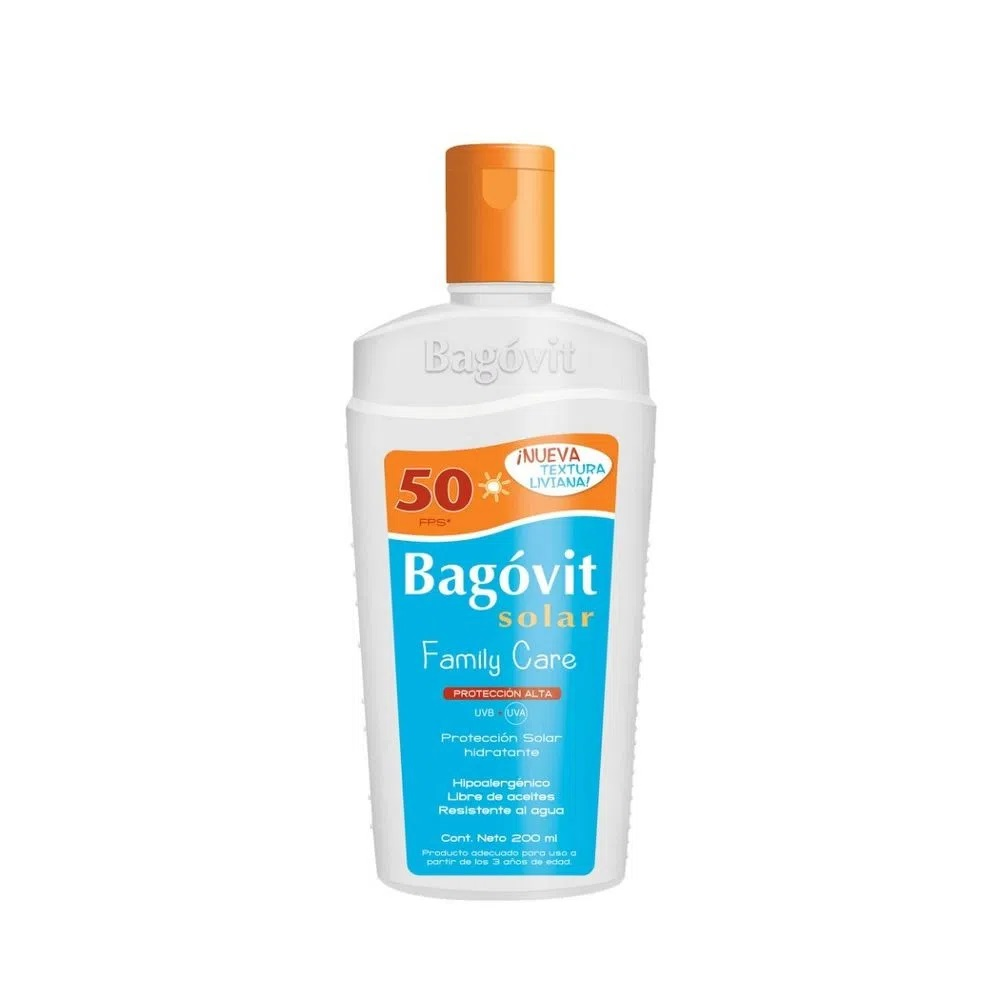 BAGOVIT  EMULSIÓN FAMILY CARE FPS 50 X 200 ml