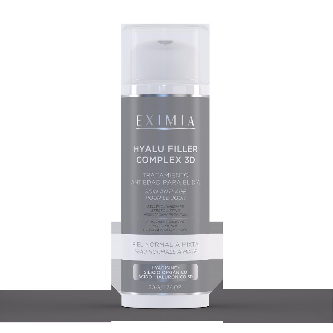 EXIMIA Hyalu Filler Complex 3d piel noramal a mixta x50g