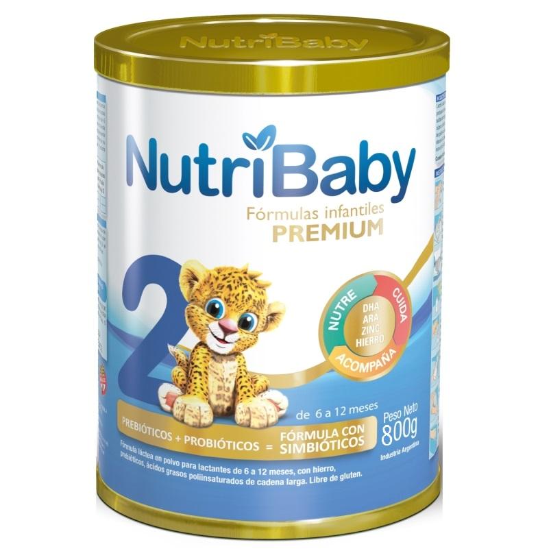 NUTRIBABY 2 LATA X 800 GR