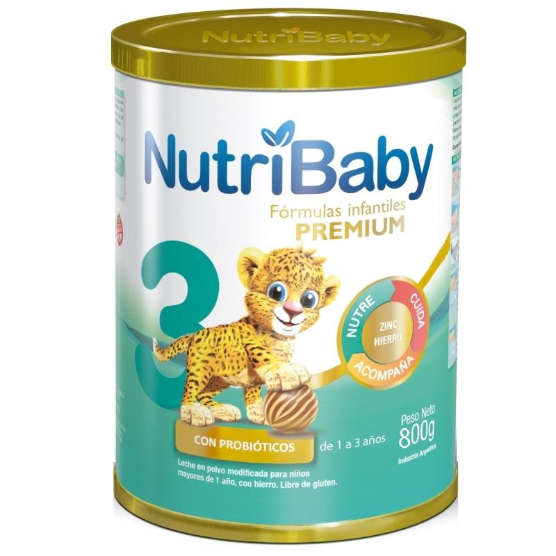 NUTRIBABY 3 LATA X 800 GR
