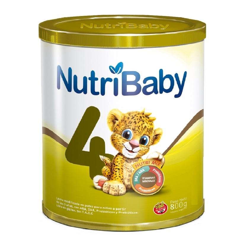 NUTRIBABY 4 LATA X 800 GR