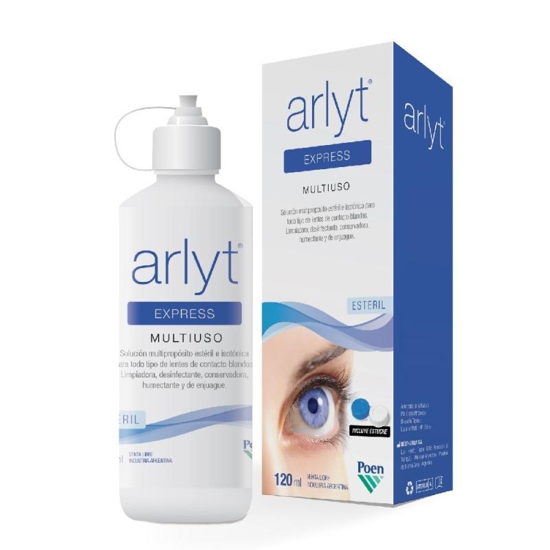 ARLYT ARLYT EXPRESS SOLUCION LENTES CONTACTO X120ML