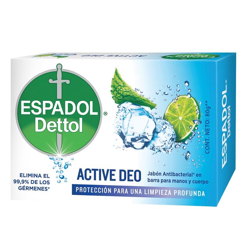 ESPADOL JABON ACTIVE DEO X 80 GRS