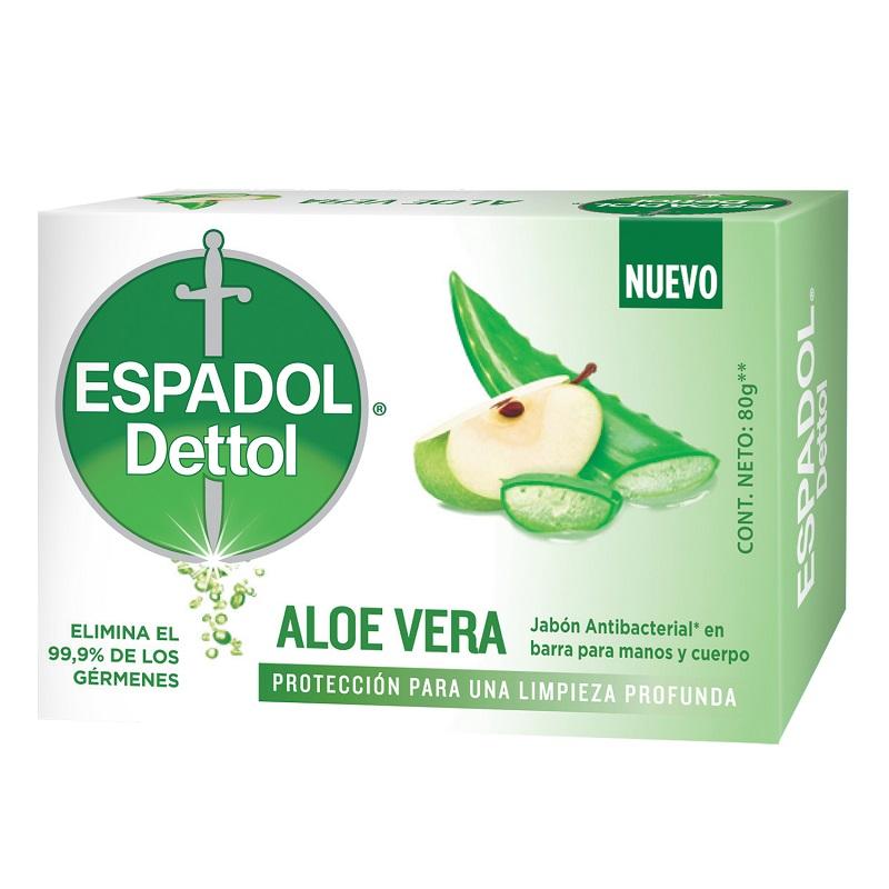 ESPADOL JABON ALOE X 80 GRS