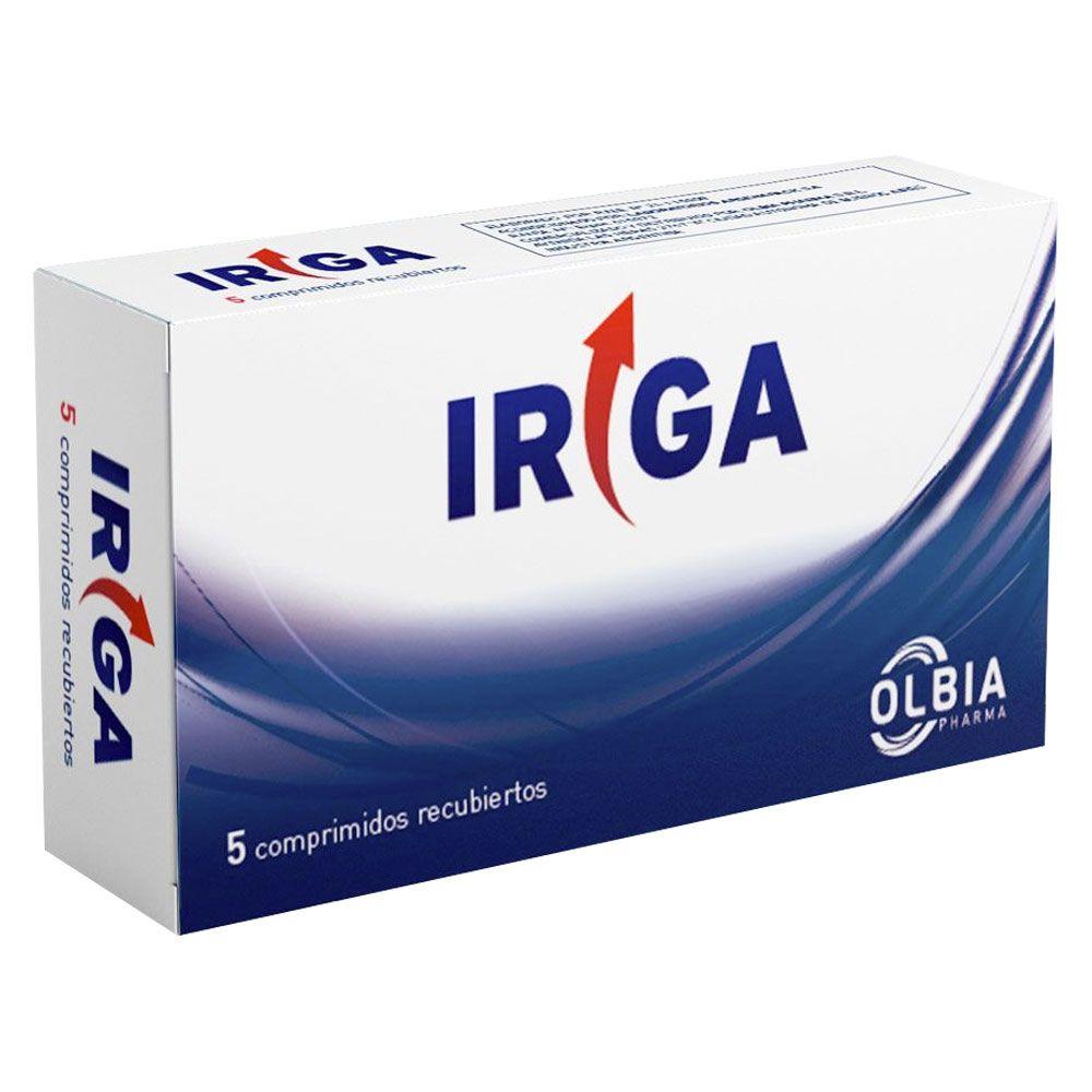OLBIA IRIGA comprimidos X 5u