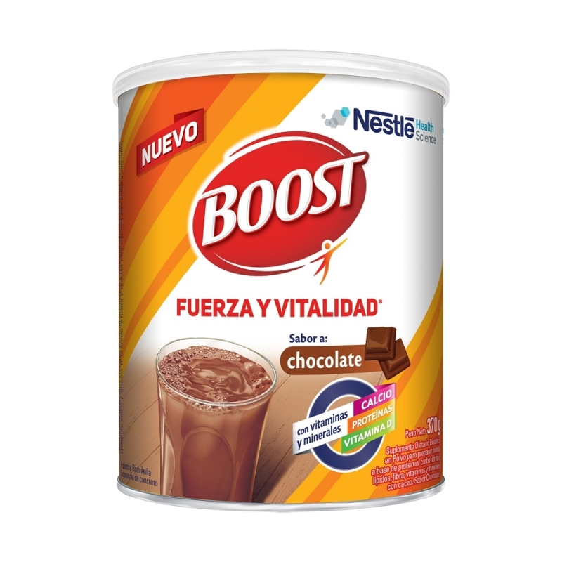 BOOST CHOCOLATE X 370 gr