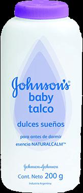 JOHNSON&JOHNSON TALCO DULCES SUENOS POLVO X 200 gr