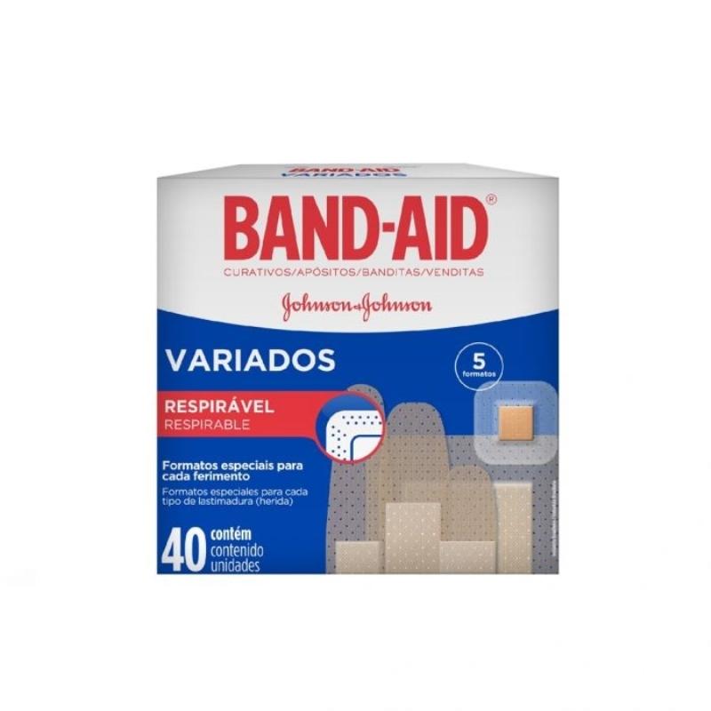 BAND AID VARIADOS  APO X40