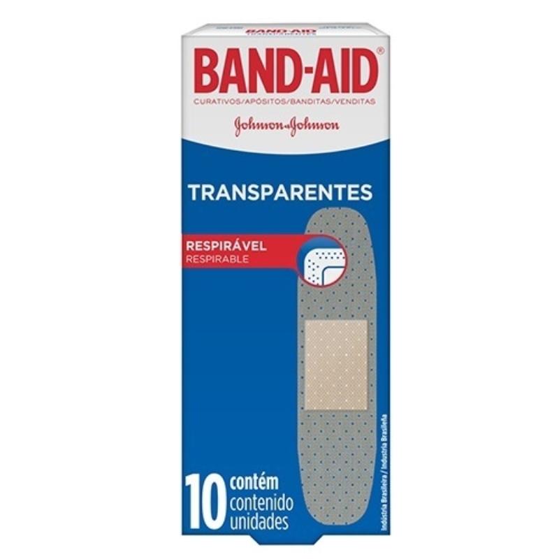 BAND AID TRANSPARENTE APO X10