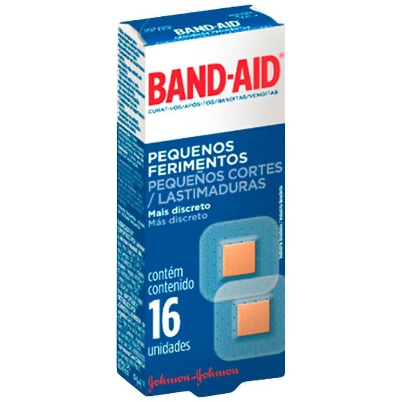 BAND AID PEQUENAS LASTIM APOX16