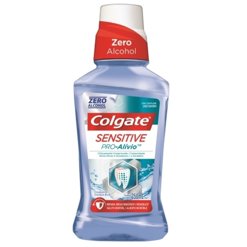 COLGATE ENJUAGUE BUCAL PRO ALIVIO X 250 ml