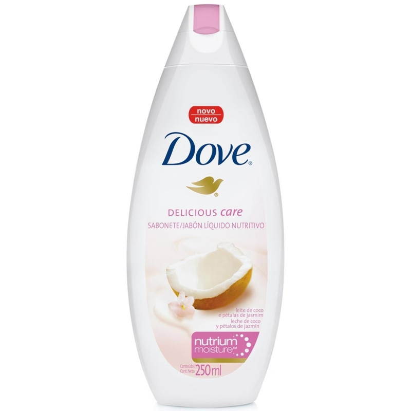 DOVE JABON LIQUIDO DELICIOUS CARE 250ML