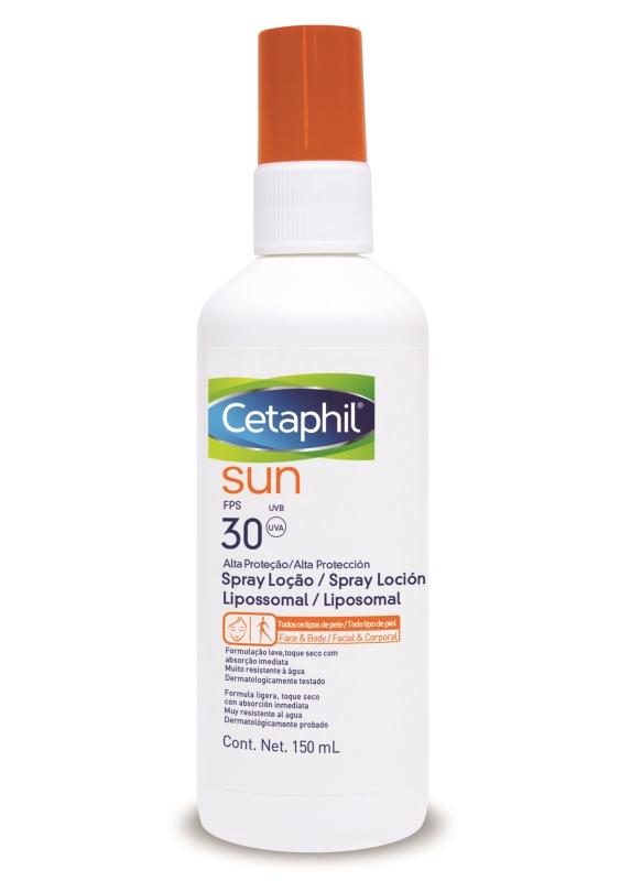 CETAPHIL SUN SPRAY FACIAL/CORPORAL FPS30 X150ml
