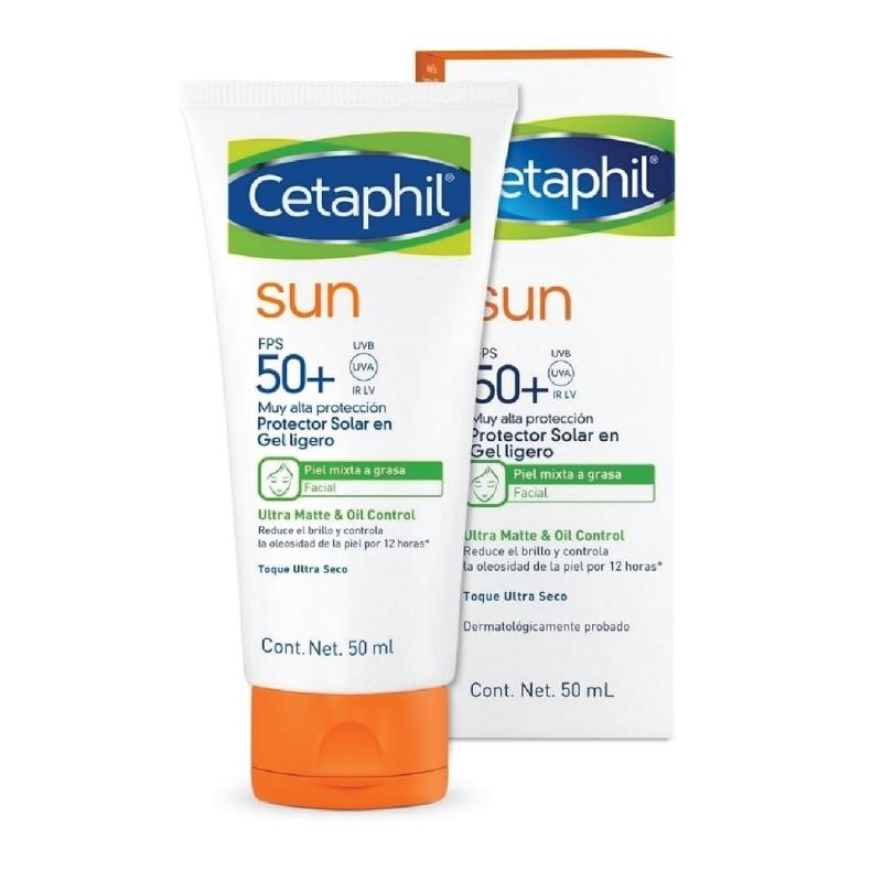 CETAPHIL SUN SPF 50 FACIAL SIN COLOR X50