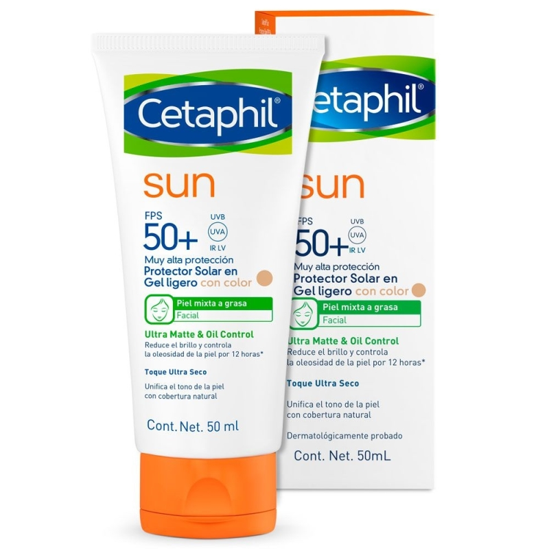 CETAPHIL SUN SPF 50 FACIAL CON COLOR X50