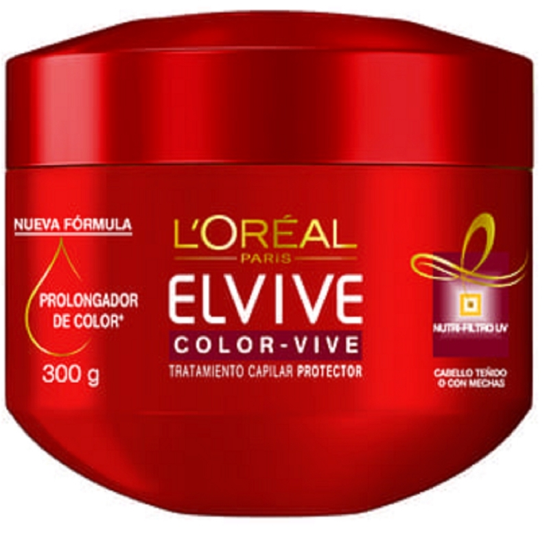 ELVIVE  CREMA TRATAMIENTO COLOR-VIVE X300