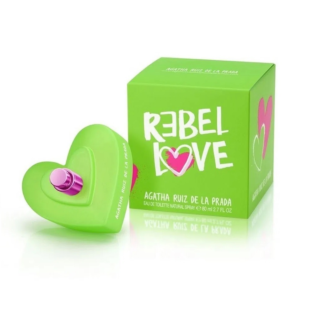 AGATHA REBEL LOVE EAU DE TOILLETTE X 80 ml