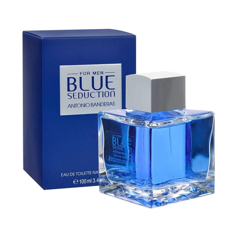 ANTONIO BANDERAS  BLUE SEDUCTION EAU DE TOILLETTE X 100 ml