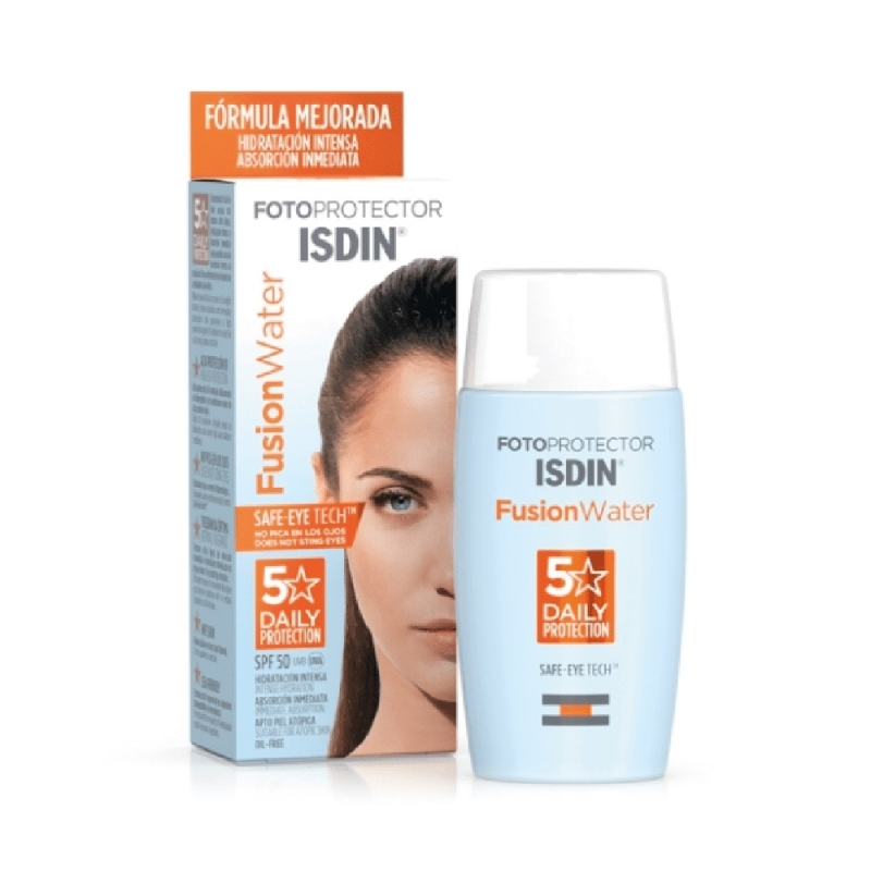 ISDIN FOTOPROTECTOR FUSION WATER FPS 50+ X 50 ml