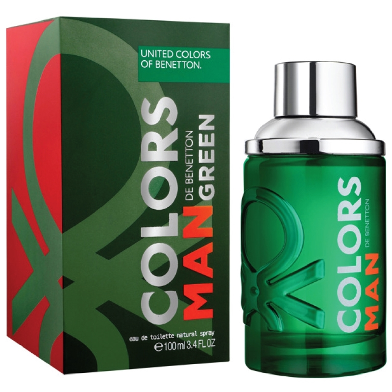 BENETTON COLORS GREEN MEN X100V EAU DE TOILETTE