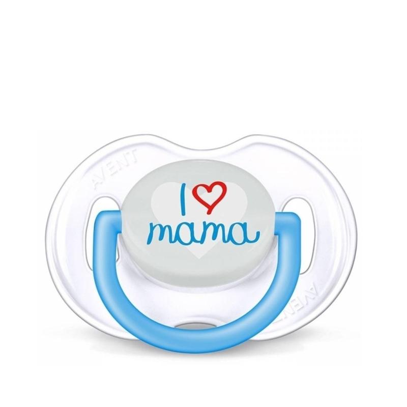AVENT CHUPETES 6-18 I LOVE MAMA NIÑO
