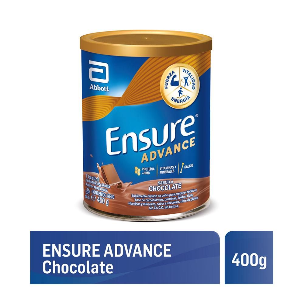 ENSURE ADVANCE CHOCOLATE X400GRS