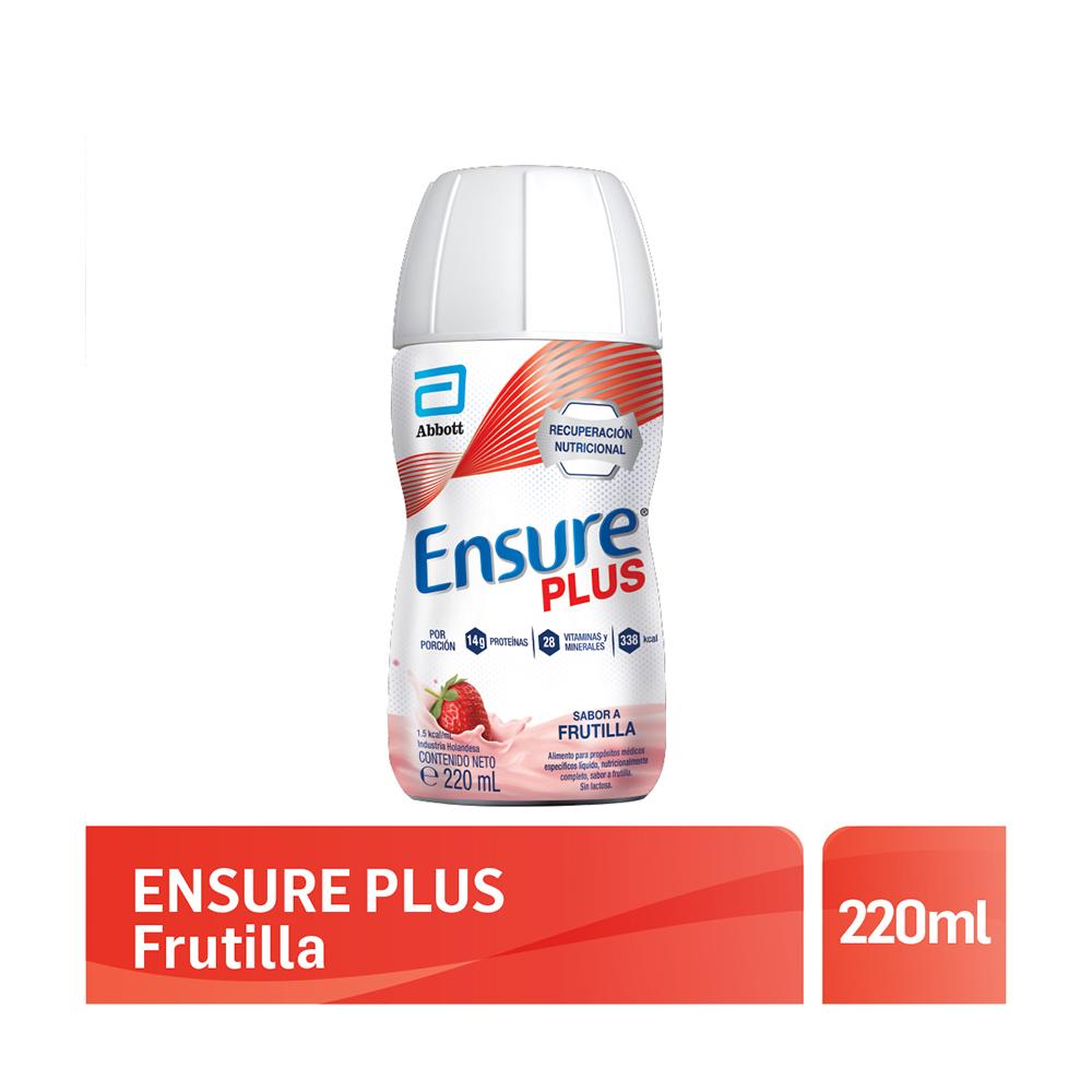 ENSURE PLUS FRUTILLA X220