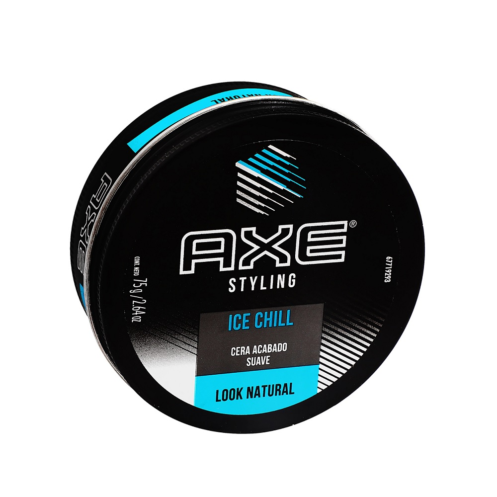 AXE CERA ICE CHILL PARA CABELLO X 75