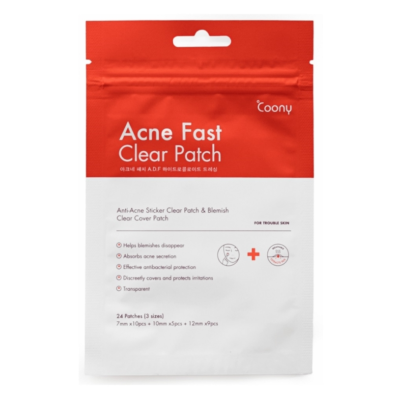 COONY ACNE FAST CLEAR PATCH X24