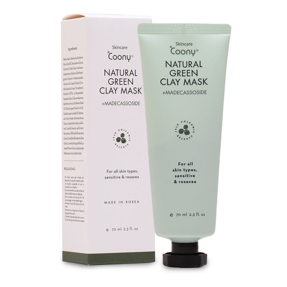 COONY  NATURAL GREEN CLAY 70 ml