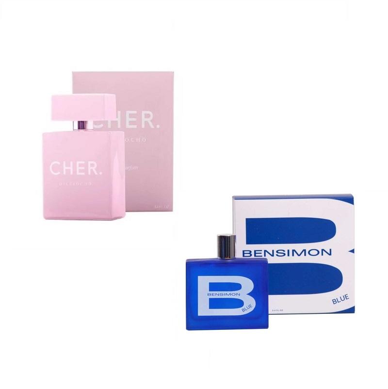 CHER DIECIOCHO X 100 ml + BENSIMON BLUE X 100 ml
