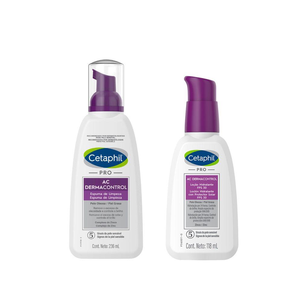 CETAPHIL COMBO LOCION + HIDRATACION